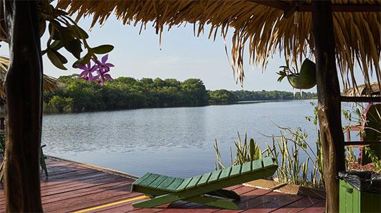 Amazone-ecolodge Brazilie