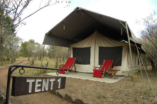 Kenia Masai kamperen