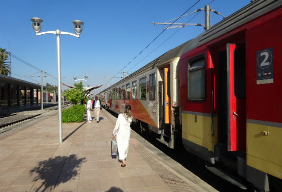 Marokko treinreis