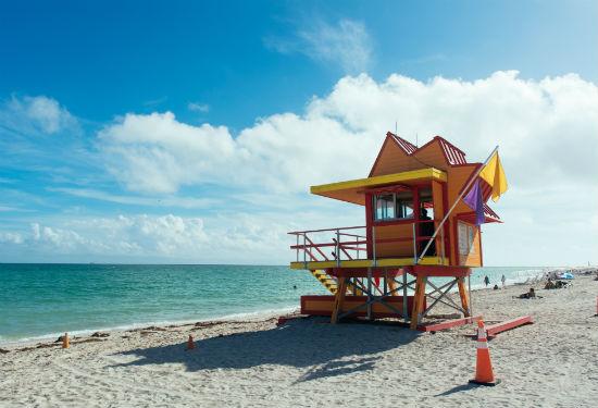 Floriday Miami strand