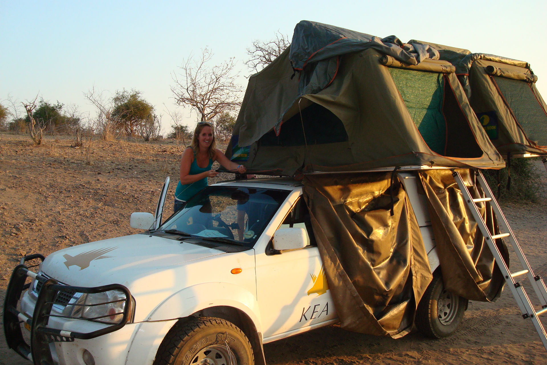 daktent namibie