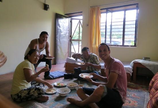 Eten met locals