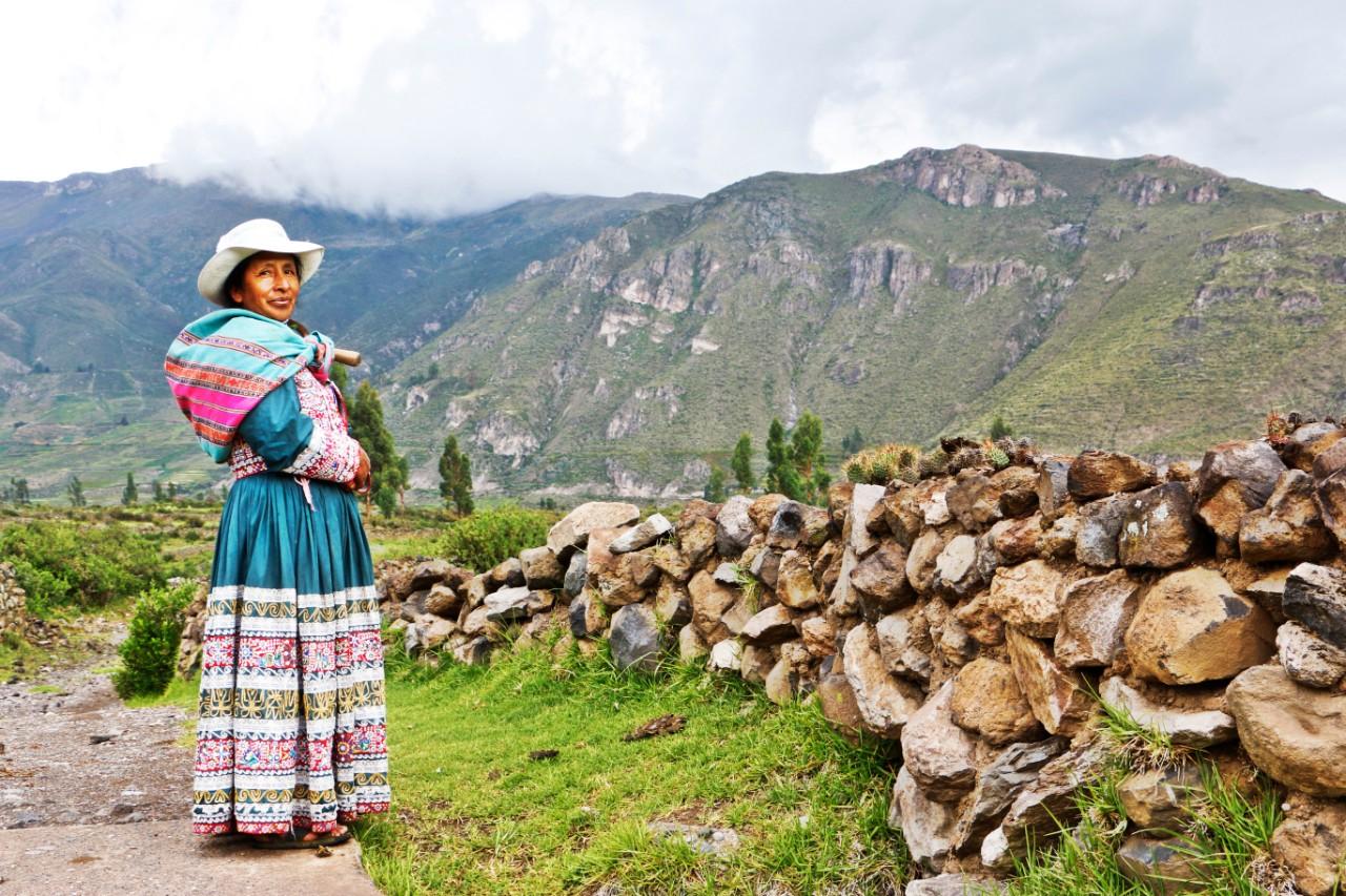 Peru Colca Canyon Josefina