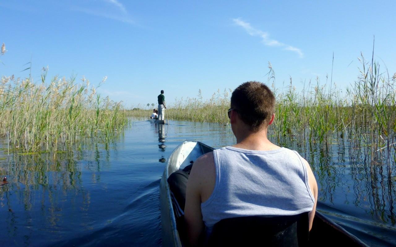 Botswana reizen - Okavango delta