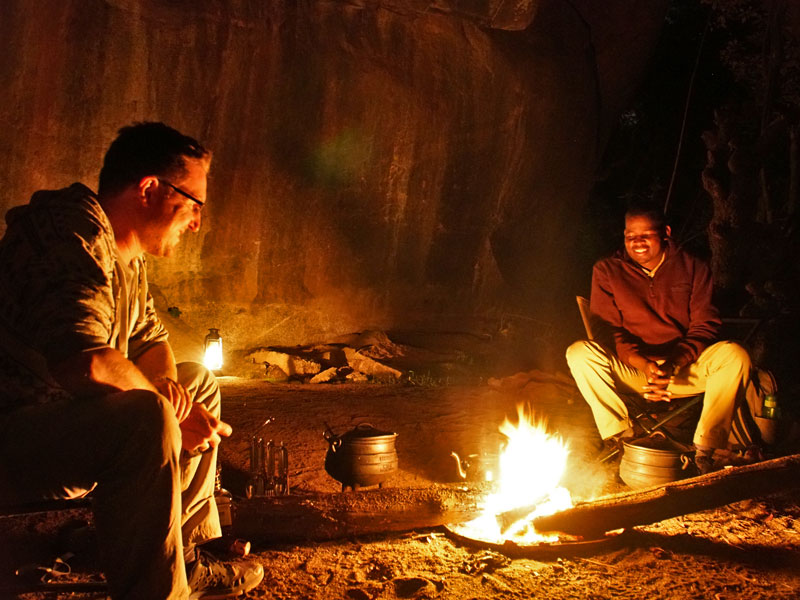Swaziland kamperen grot