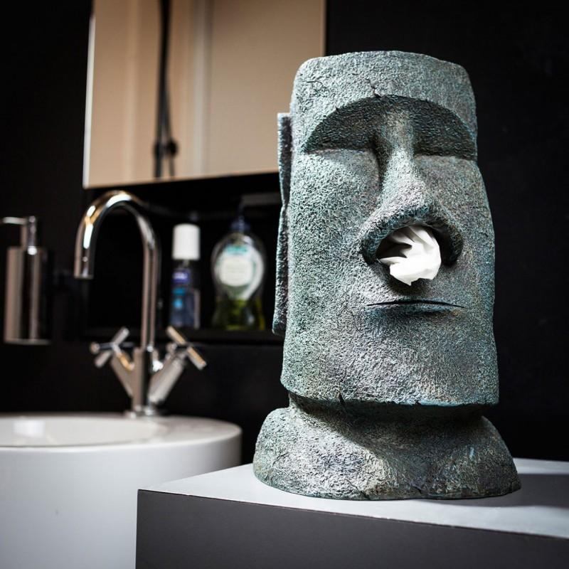 moai-tissuehouder- Paaseiland