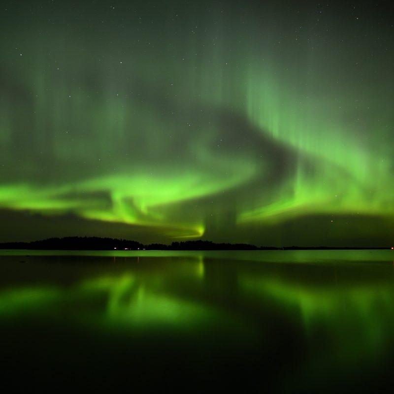 Noorderlicht groen