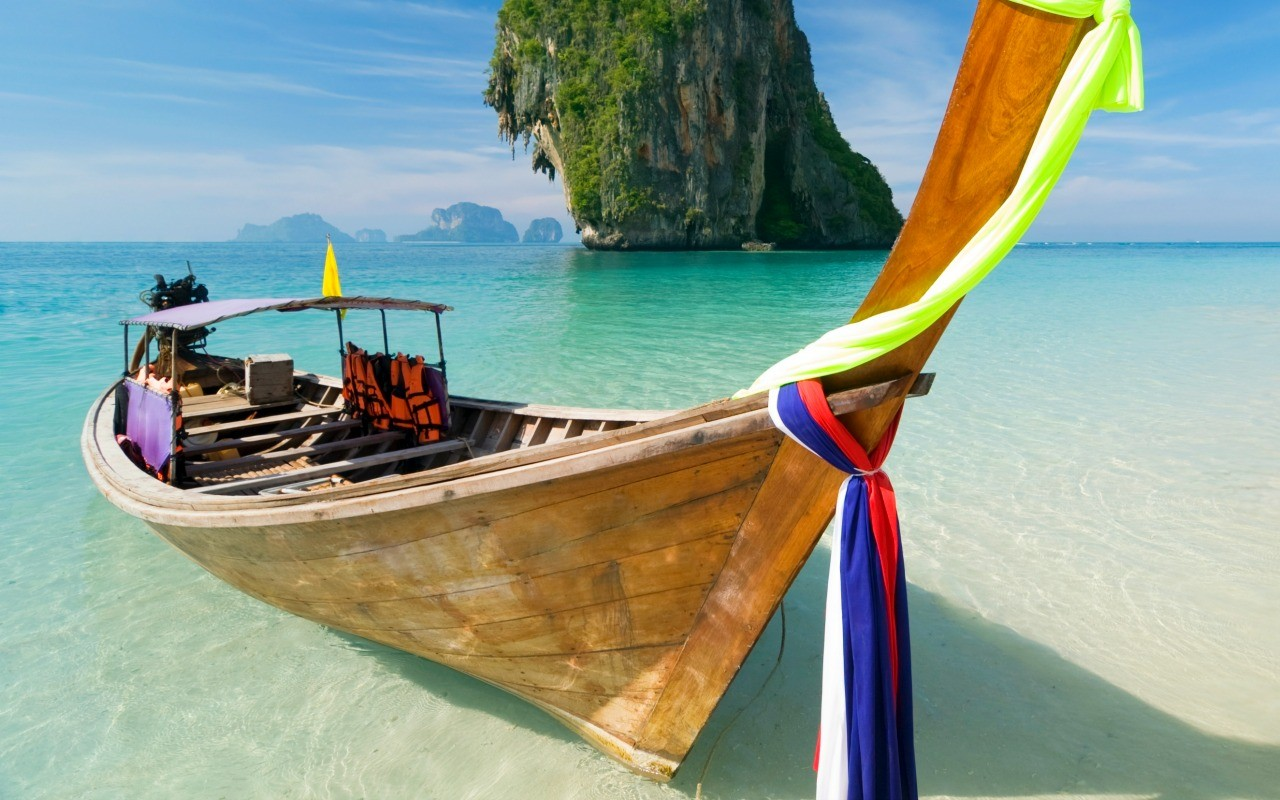 Longtail tijdens je Thailand rondreis