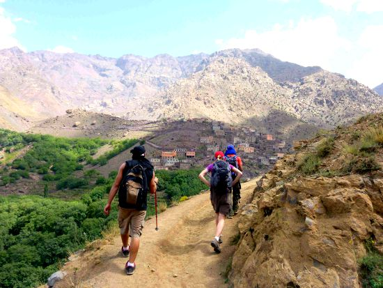 Marokko trekking