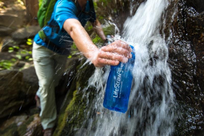 Duurzame gadget: Lifestraw bottle