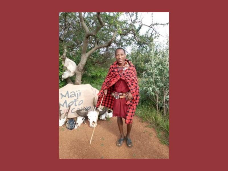 Masai gids Benson Kenia