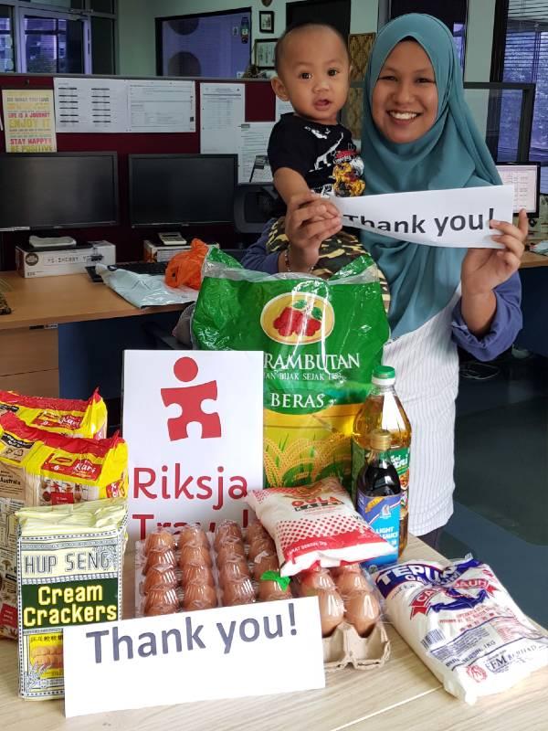 Maleisie kantoormedewerkster Aishah