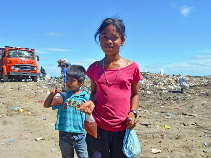 Steun Nicaragua voedselpakketen