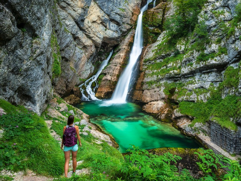 Slovenie wandelen