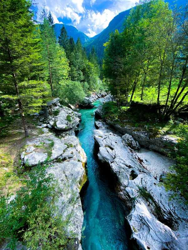 Soca vallei Slovenie
