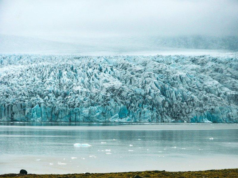 Vatnajokull gletsjer IJsland