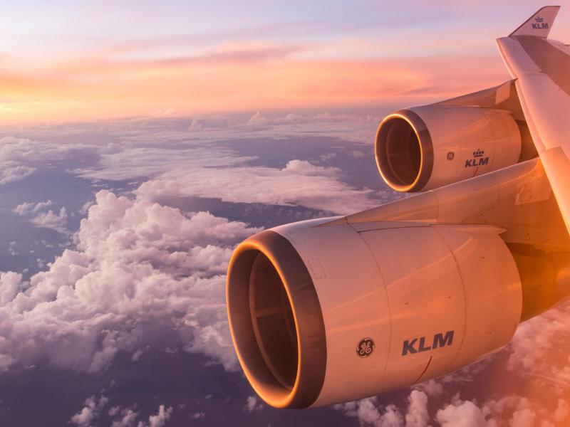 Vliegen met KLM