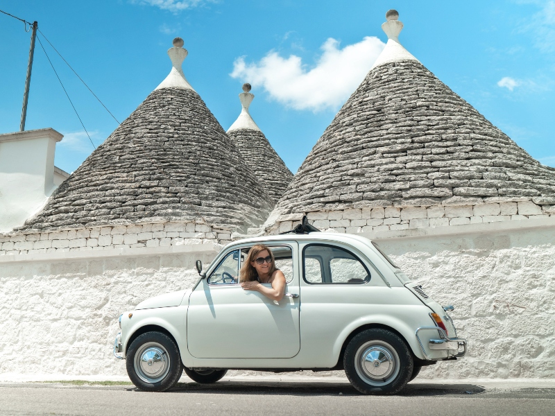 Auto huren Puglia