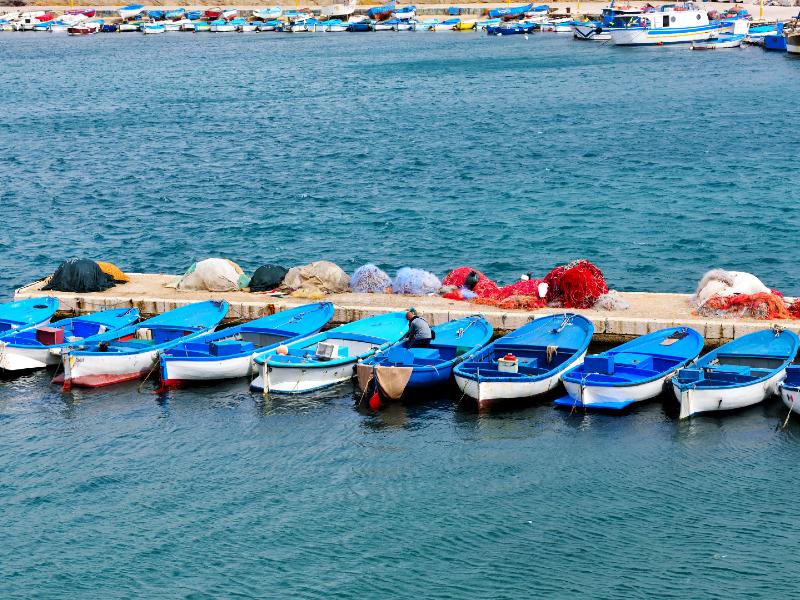 Vissersdorp Italië