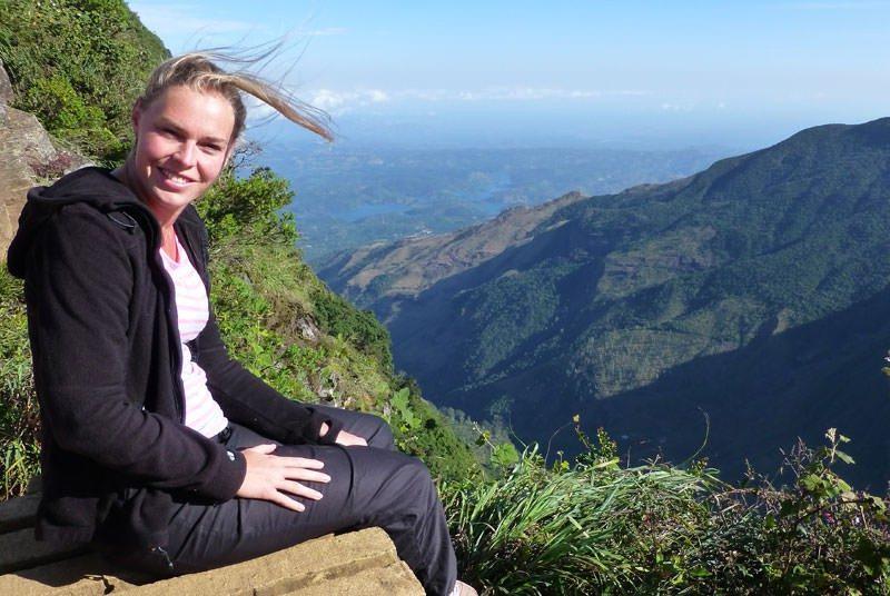 Sri Lanka uitzicht