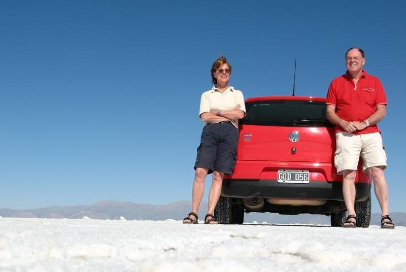Argentinië vakantie - zoutvlakte