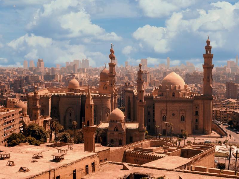 Praktische informatie Egypte - moskee