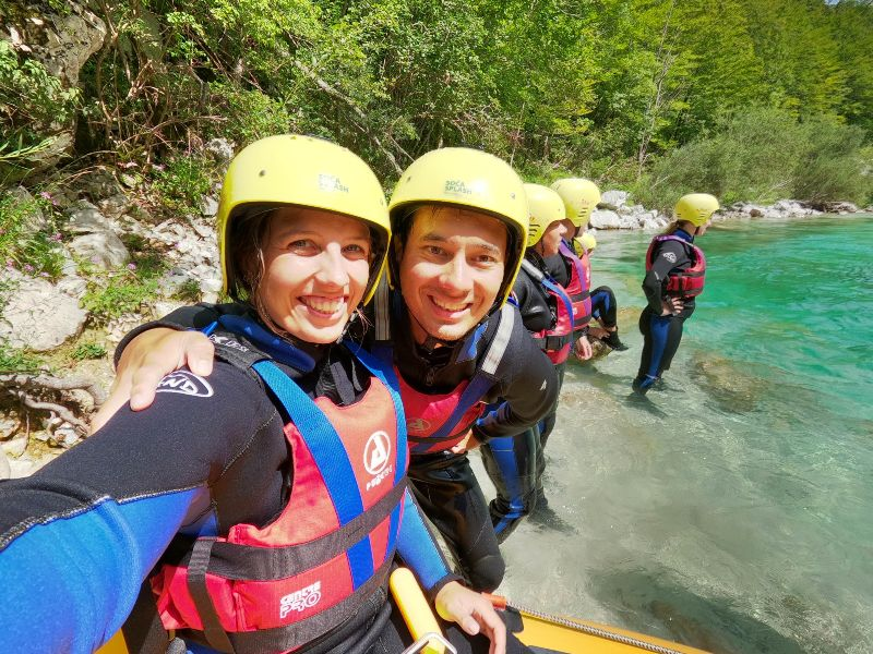 Slovenië raften, rondreizen Kroatië