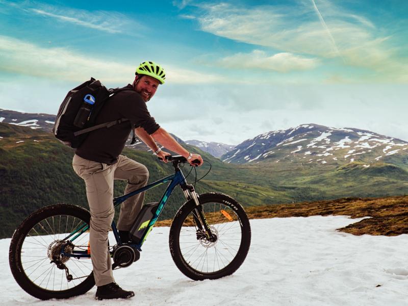 Rondreis Noorwegen - mountainbike