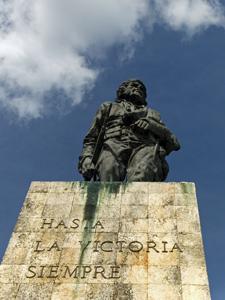 Cuba reis, Che Guevara monument