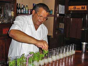 Mojitos Bodegita del medio, Cuba