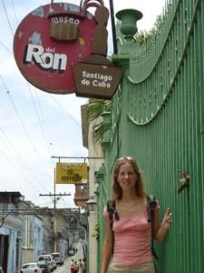 Rum museum, Santiago de Cuba