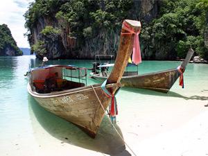 Ideale route door Thailand