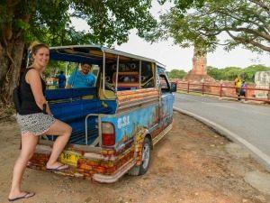 hoogtepunten Thailand Ayutthaya tuktuk