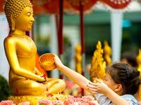 thailand offering feest
