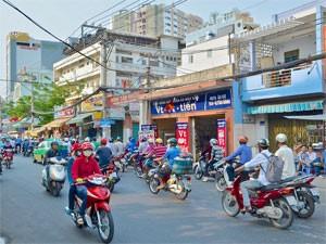 straatbeeld saigon vietnam