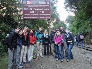 peru inca trail reiziger
