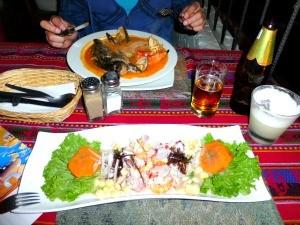 Ceviche eten tijdens je Peru reis