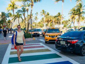 Miami zebrapad