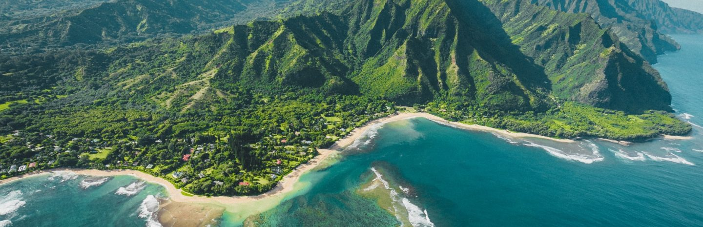 Helicopter view- Hawaii