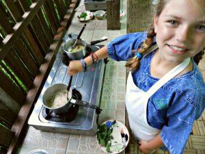 Chian Mai met kinderen - koken in Chiang Mai