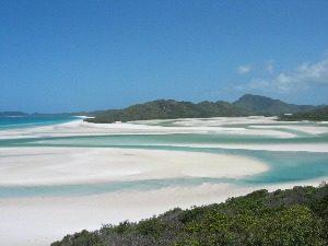 Whitehaven beach Australië