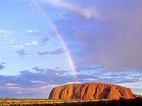 Outback ayers rock