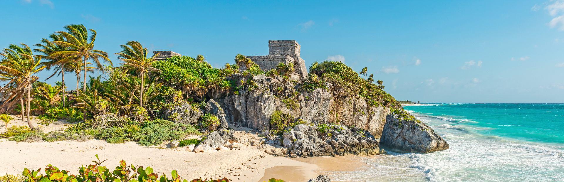 Mexico tempels en stranden