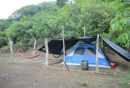 Costa Rica Kamperen
