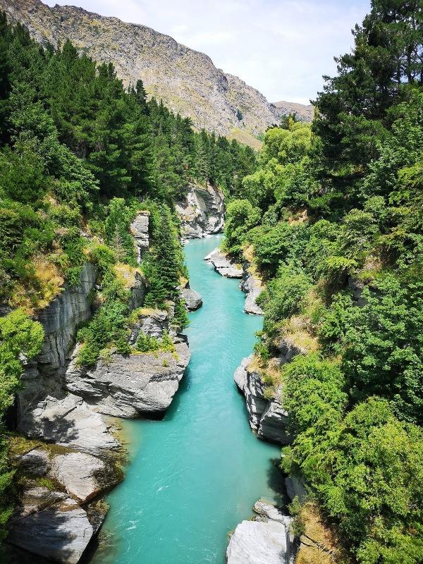 Shotover rivier Nieuw-Zeeland