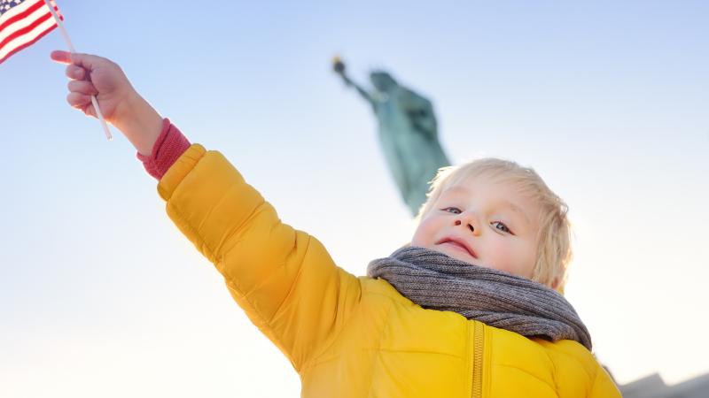Vrijheidsbeeld kind