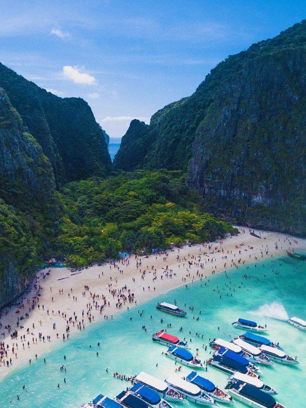 Maya Bay, Ko Phi Phi in Thailand