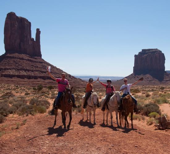 amerika monument valley vervoersmiddelen paardrijden