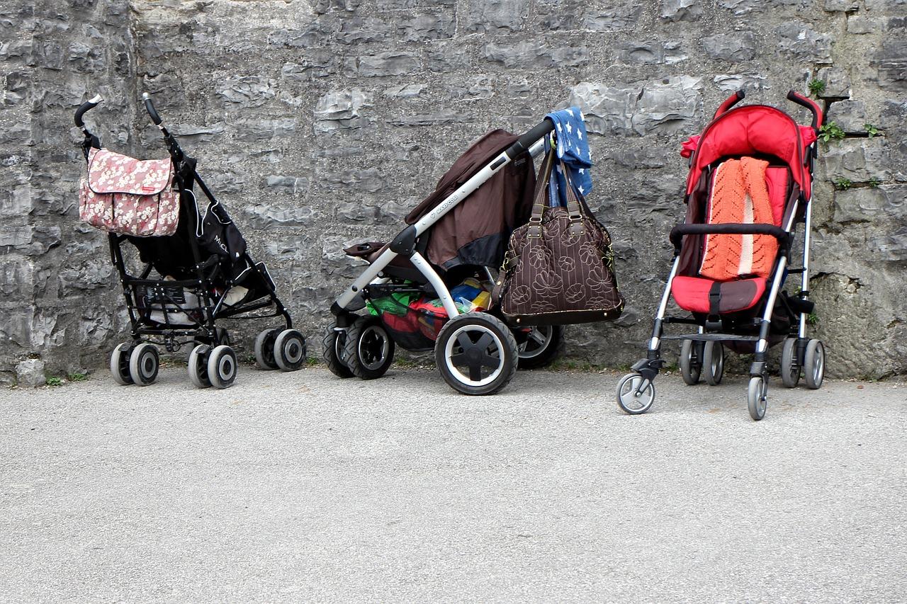 Inpakken kinderwagen bagage
