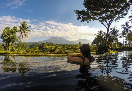 Indonesië zwemmen